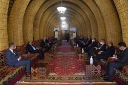 اجتماع عراقي بسفراء الدول دائمة العضویة في مجلس الامن
