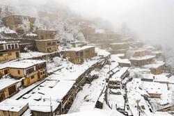 ایران کے علاقہ ماسولہ میں شدید برف باری