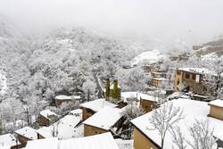 ارتفاعات گلستان سفیدپوش شد/ تردد در مسیرهای کوهستانی با زنجیرچرخ ممکن است