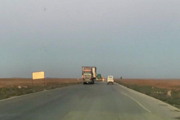 هدف قرار گرفتن کاروان لجستیک آمریکا در حله عراق