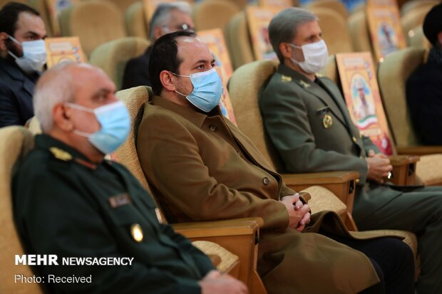 مراسم بزرگداشت شهید فخری زاده با حضور وزیر دفاع