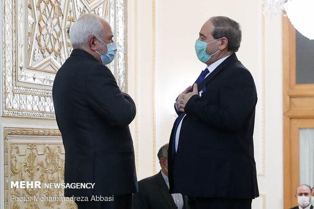 Zarif ve Faysal Mikdad