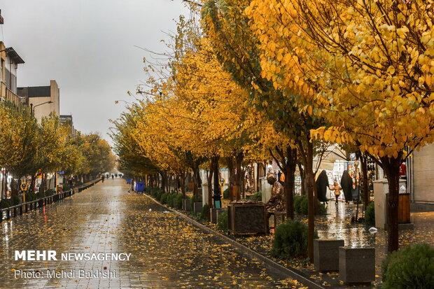 İşte Kum kentinin sonbahar güzelliği
