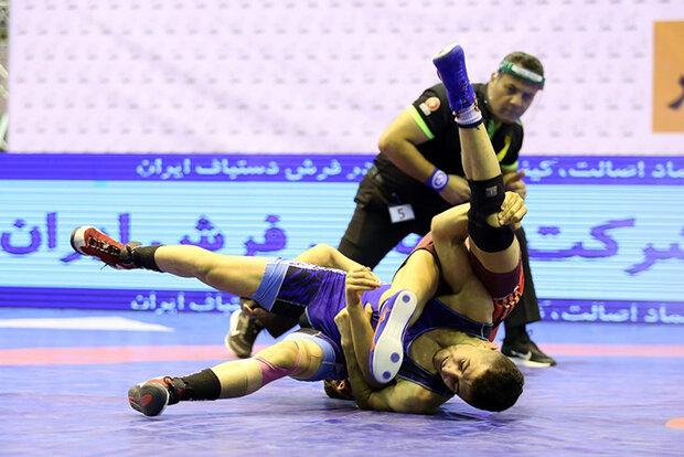 صعود استقلال و دانشگاه آزاد به نیمه نهایی لیگ برتر کشتی آزاد