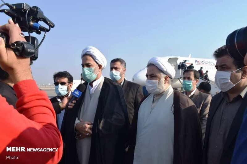 حضور رئیس سازمان بازرسی در مناطق دچار آبگرفتگی اهواز