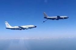 جنگنده روسیه هواپیماهای جاسوسی آمریکا و فرانسه را رهگیری کرد