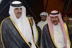 امیر قطر از تلاشهای کویت برای حل بحران دوحه با کشورهای عربی قدردانی کرد