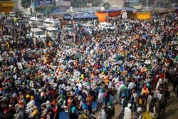 بھارتی حکومت کے خلاف کسانوں کا احتجاج 12 دن بھی جاری