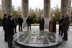 ساخت حسینیه در جوار شهدای گمنام پارک جنگلی ارومیه