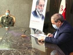 World's ambassadors sign Memorial Book of Martyr Fakhrizadeh