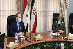 Defense min. vows Iran's cooperation to rebuild Syria
