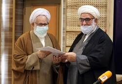 مراسم معارفه نماینده ولی فقیه در بنیاد شهید برگزار شد
