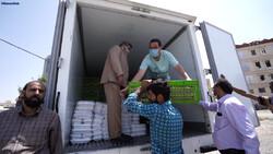 کورونا وائرس سے متاثرہ افراد تک امداد پہنچانے کا کام جاری