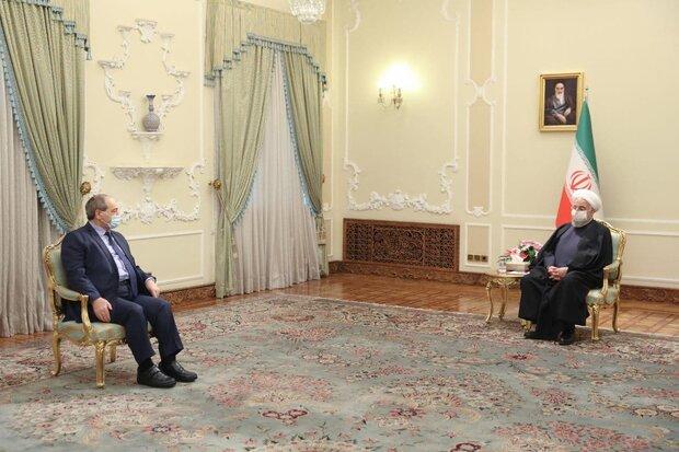 سنقف إلى جانب الشعب السوري وحكومته حتى تحقيق النصر النهائي