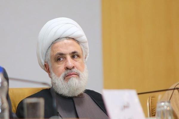شیخ «نعیم قاسم» برای حضور در مراسم تحلیف ریاست جمهوری وارد تهران شد