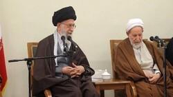 رہبر معظم انقلاب اسلامی کا آیت اللہ محمد یزدی کے انتقال پر تعزیتی پیغام