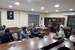 مداحان حاضر در خوزستان با رئیس سازمان بازرسی کشور دیدار کردند