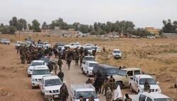عملية الحشد الشعبي الواسعة على الحدود بين ديالى وصلاح الدين