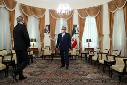 Azeri FM meeting with Shamkhani