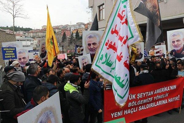 """Sosyal medyada Türkçe """"Şehit General Süleymani"""" paylaşımı"""