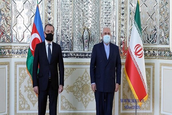 Iranian Foreign Minister holds talks with Azeri counterpart