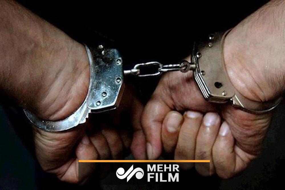 عاملان زورگیری از بانوی کرمانشاهی دستگیر شدند
