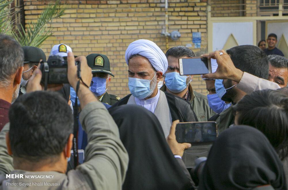 سفر ۴ روزه رئیس سازمان بازرسی کل کشور به خوزستان پایان یافت