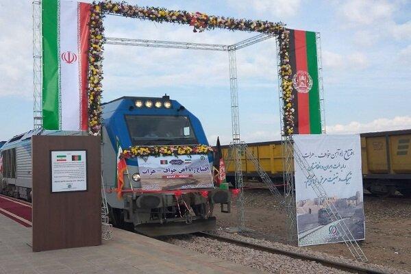 اقتصادی/ ایجاد کریدور بینالمللی با پروژه راهآهن خواف به هرات + فیلم