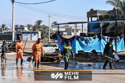 وحدتیه بوشهر؛ شهر غیرت این روزها زیر آب است