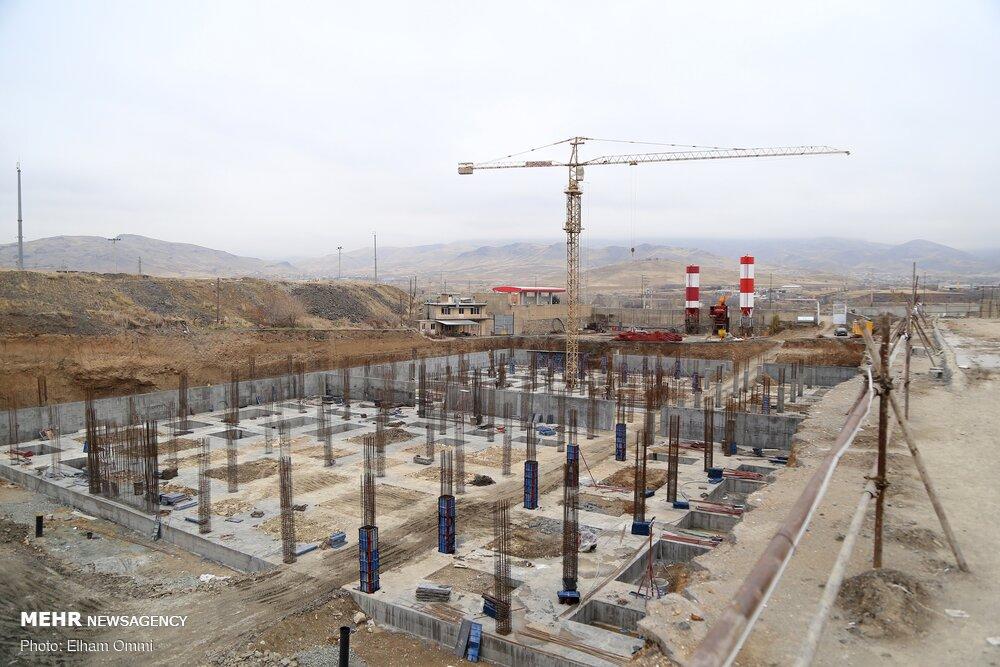 پیشرفت ۶۵ درصدی عملیات اجرایی پروژه احداث پارکینگ مینابی