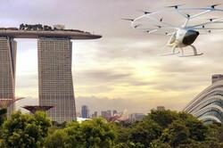 پروازهای جهانگردی تاکسیهای هوایی در سنگاپور آغاز می شود