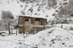 ورسک کے علاقہ میں موسم خزاں کی پہلی برف باری