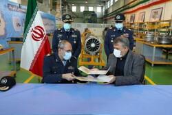 Iran Air Force, IAIO ink coop. pact
