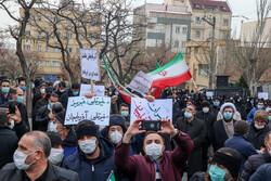 تبریز کے عوام کا ترکی کے قونصلخانہ کے سامنے مظاہرہ