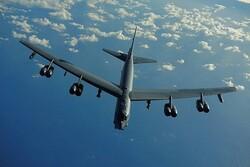 تعقیب بمب افکن آمریکایی توسط جنگنده های روسی بر فراز دریای برینگ