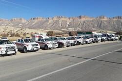 آغاز طرح امداد و نجات زمستانه هلال احمر در استان ایلام
