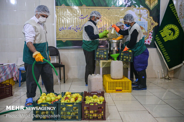 İranlı din alimlerinin koronavirüs hizmeti