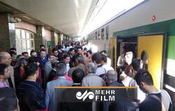 اختلال در حرکت قطار کرج-تهران بدون یک عذرخواهی ساده