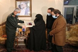 Fakhrizadeh family receive 'Order of Nasr'