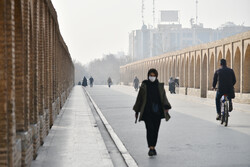 کیفیت هوا در ۹ نقطه اصفهان نارنجی و در ۲ نقطه قرمز است/ ذرات معلق آلاینده غالب هوا
