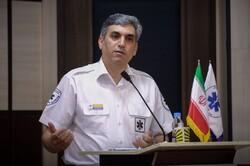 سقوط پله های برقی یک پل هوایی در مشهد/ ۵ نفر مصدوم شدند