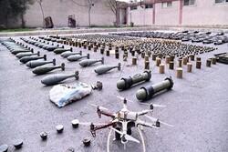 کشف مقادیر زیادی سلاح و مهمات اسرائیلی در جنوب سوریه