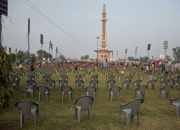 مینار پاکستان پر آج اپوزیشن اپنی طاقت کا مظاہرہ کرےگی