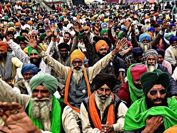 بھارتی کسانوں کا مودی سرکار کے سامنے جھکنے سے انکار
