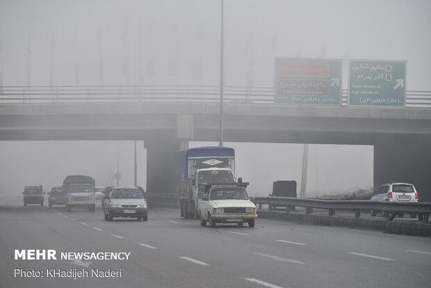 شاخص هوای اصفهان در وضعیت نارنجی آلودگی