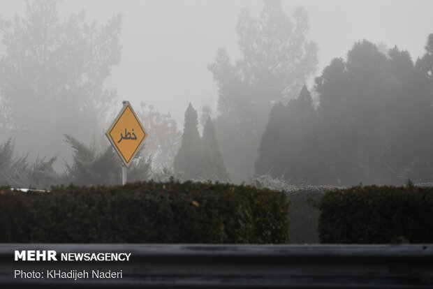 سایه سنگین آلودگی بر سر هوای اراک/تداوم کیفیت هوای ناسالم تا فردا