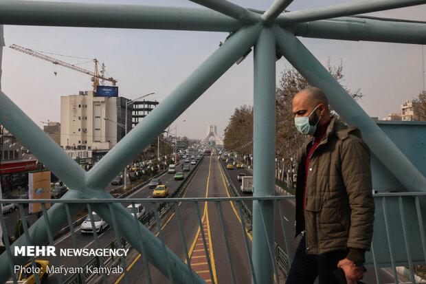افزایش مرگ های کرونایی در هوای آلوده تهران/ هشدار به بیماران