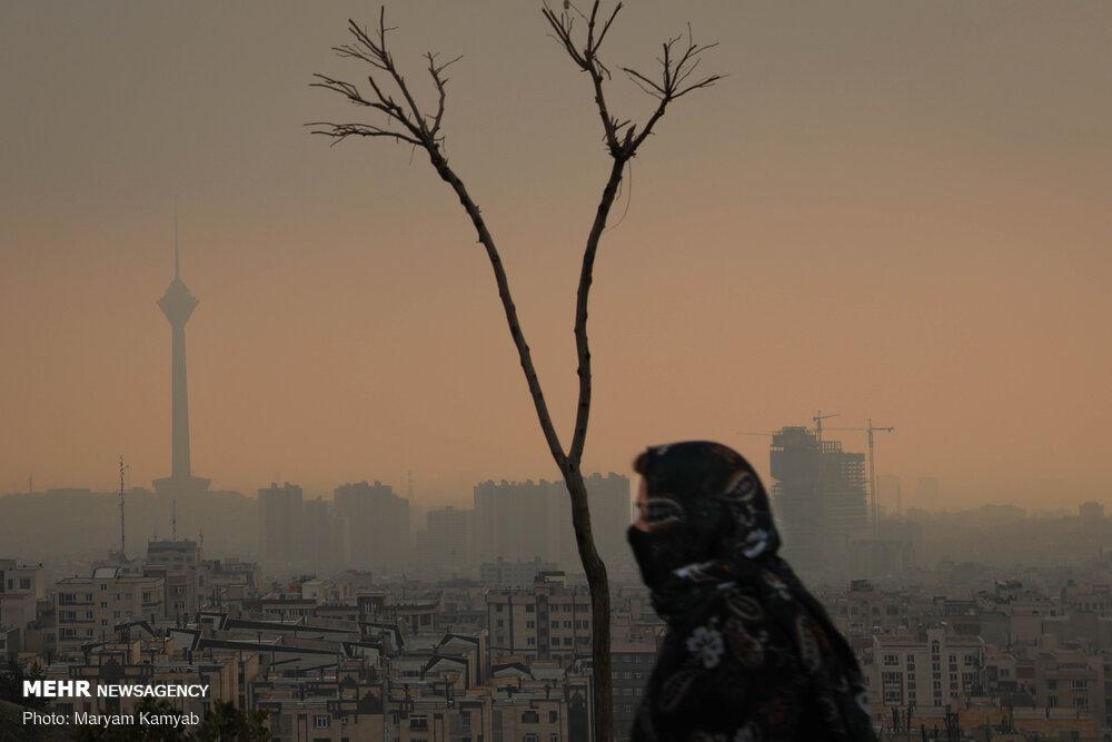 هوای پایتخت برای گروههای حساس ناسالم شد/شرایط بهبود مییابد