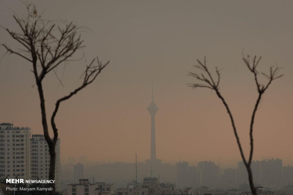 هشدار هواشناسی نسبت به پایداری جوی و افزایش آلایندهها