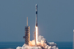 اسپیس ایکس ماهواره رادیویی به فضا برد